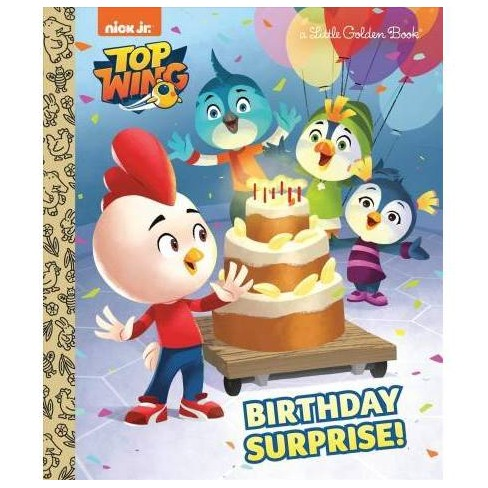 Birthday Surprise! (Top Wing) - (Little Golden Book) by  Frank Berrios (Hardcover) - image 1 of 1
