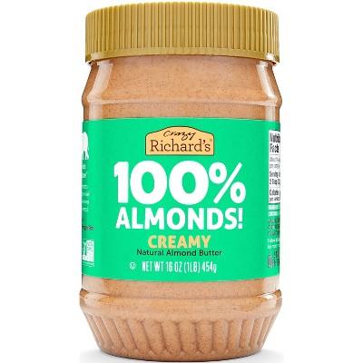 Crazy Richard's Almond Butter Natural