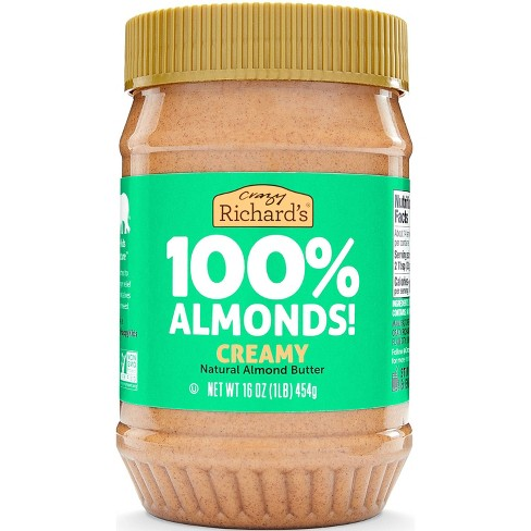 Crazy Richard's Almond Butter Natural - image 1 of 3