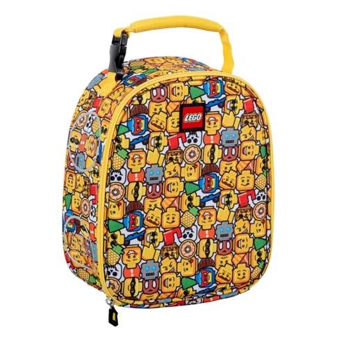 LEGO Mini Figure Emoji Lunch Bag - Yellow - image 1 of 4