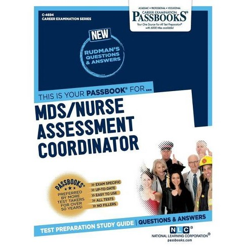 MDS/Nurse Assessment Coordinator - by  National Learning Corporation (Paperback) - image 1 of 1