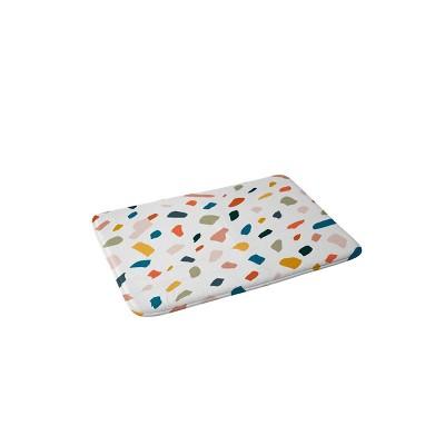 83 Oranges Terrazzo Love Memory Foam Bath Mat - Deny Designs