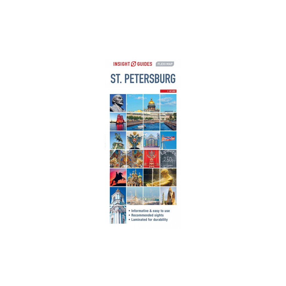 Insight Guides Flexi Map St Petersburg - (Insight Flexi Maps) (Paperback)