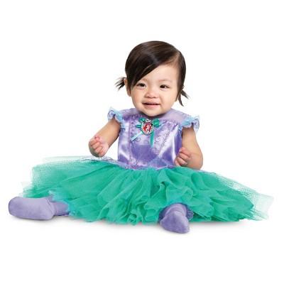 Baby The Little Mermaid Ariel Tutu Halloween Costume