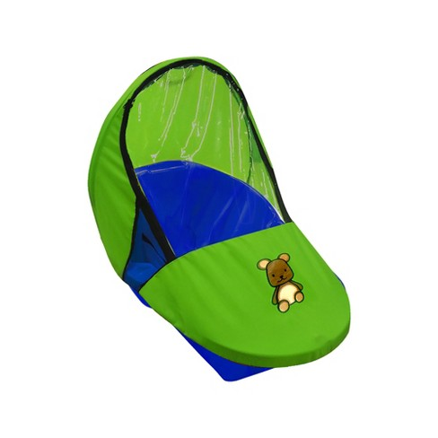 ERA Group Weather Shield Add On for peanut sled - Green Bear - image 1 of 2