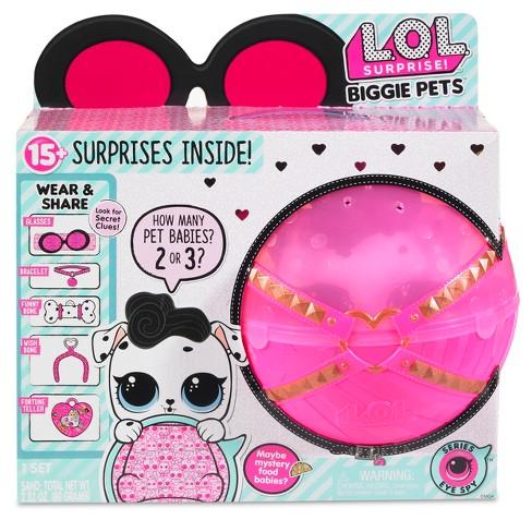 L O L Surprise Biggie Pets Dollmation Mini Backpack Target