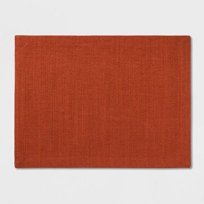Solid Campfire Placemat Orange - Threshold™