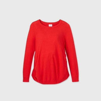 Maternity Pullover Sweater - Isabel Maternity by Ingrid & Isabel™ Red S