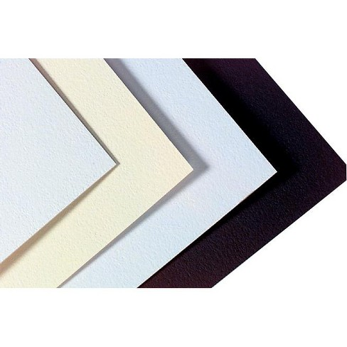 Crescent Mat Board, 30 x 42 Inches, White/Cream Pebbled, pk of 10 - image 1 of 1