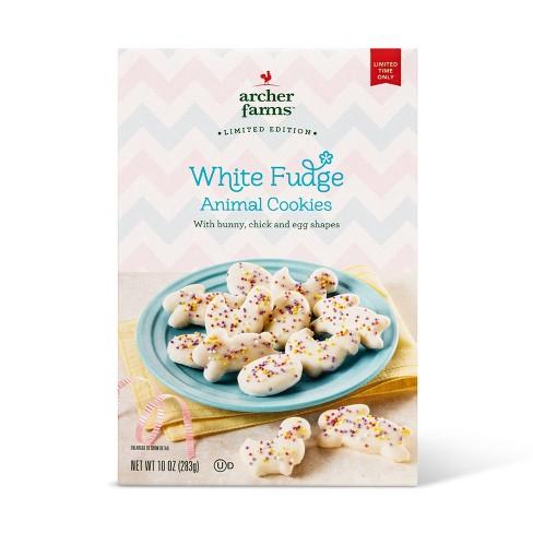 White Fudge Easter Animal Crackers - 10oz - Archer Farms™ - image 1 of 3