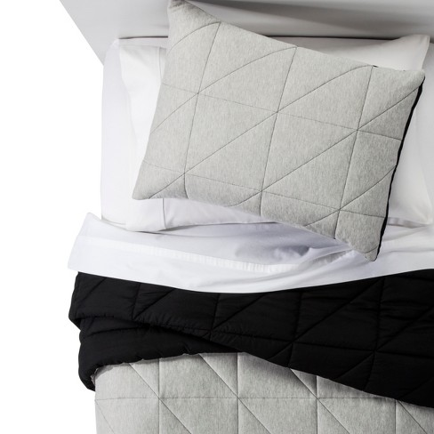 Jersey Comforter Set - Pillowfort™ - image 1 of 4