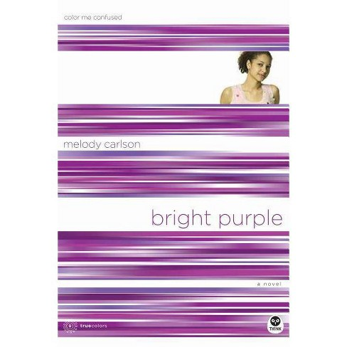 Bright Purple - (TrueColors) by  Melody Carlson (Paperback) - image 1 of 1