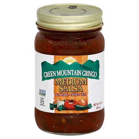 Green Mountain Gringo Medium Salsa 16oz - image 1 of 3