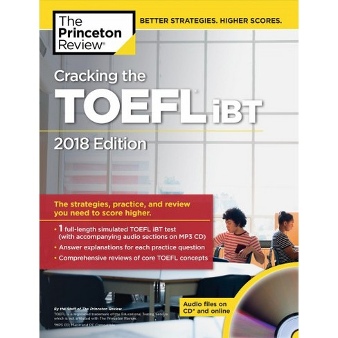 Princeton Review Cracking The Toefl Ibt 2018 The Strategies
