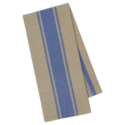 4pk Blue Stripe Dishtowel 18 x28  - Design Imports