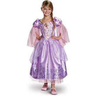 Girls' Disney Princess Rapunzel Deluxe Exclusive Halloween Costume S
