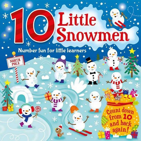 10 Little Snowmen - by  Igloobooks (Board_book) - image 1 of 1