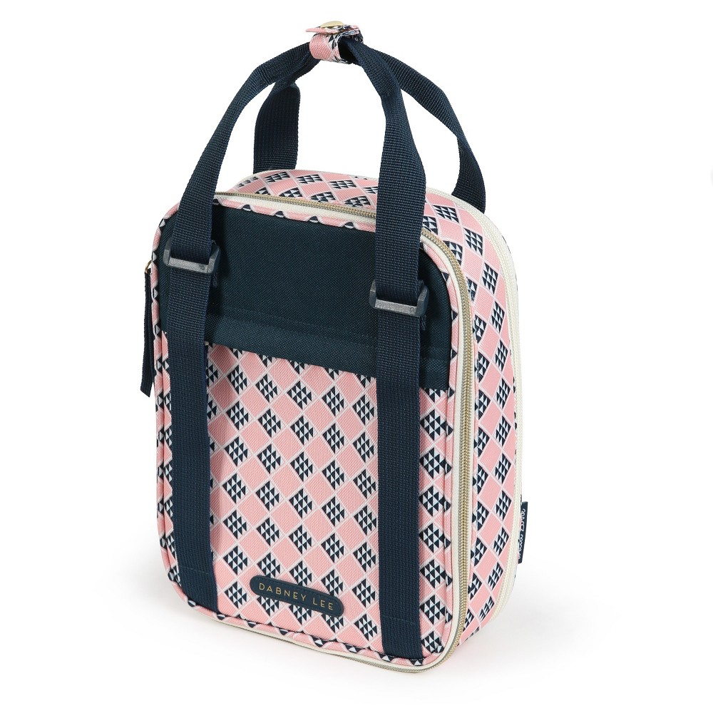 Image of Dabney Lee Expandable Lunch Tote - Gwenie Print, Pink
