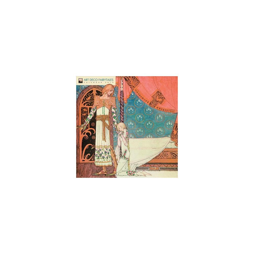 Art Deco Fairytales 2019 Calendar - (Paperback)