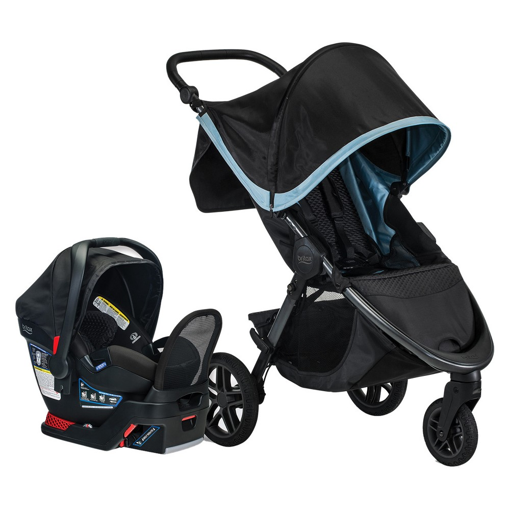 Image of Britax B-Free Travel System - Frost