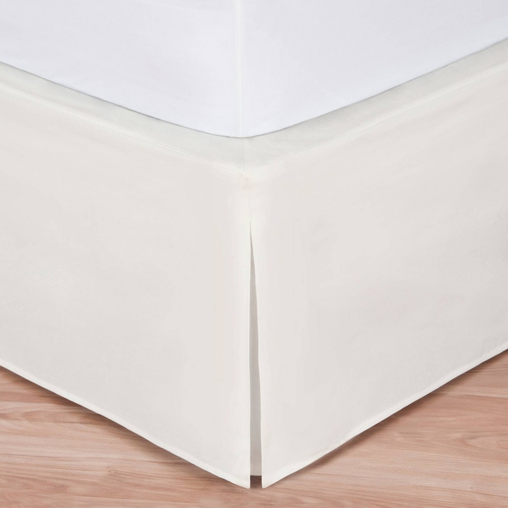 Image of Magic Skirt Wrap-around Tailored Bed Skirt - Ivory (Twin)