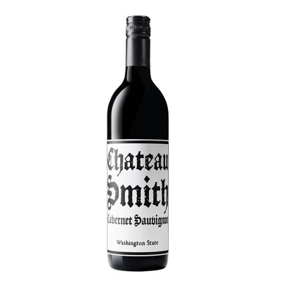 Chateau Smith Cabernet Sauvignon Red Wine by Charles Smith - 750ml Bottle