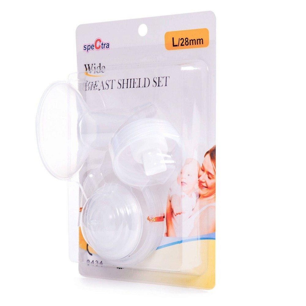 Image of speCtra Breast Pump Accessories Breast Shield Set - 28mm