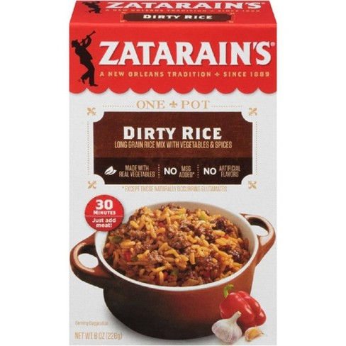 Zatarain's New Orleans Style Dirty Rice Mix - 8oz - image 1 of 4
