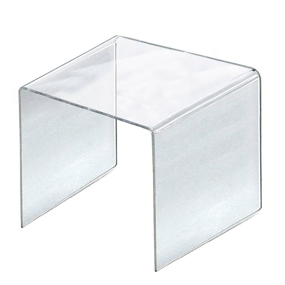 Azar Displays 11 5 4pk Acrylic Riser Display Square