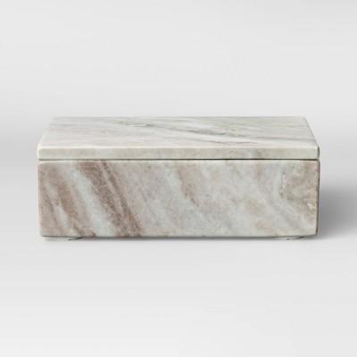 "5"" x 8"" Toronto Marble Box Natural - Project 62™"