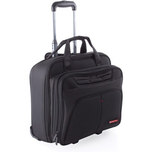 "Swiss Mobility Carrying Case (Roller) for 15.6"" Notebook - Black - image 1 of 1"