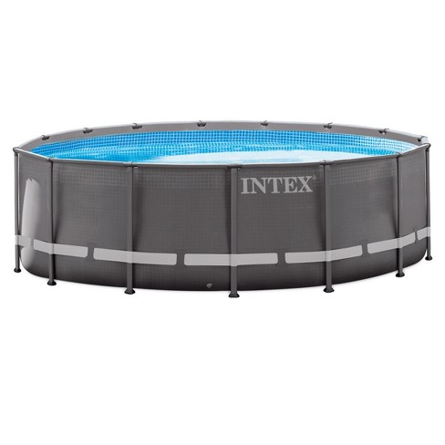 Intex 15 X 48 Ultra Frame Above Ground Pool With Filter Pump Target