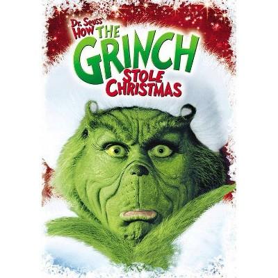 How The Grinch Stole Christmas (DVD) (Dr Seuss)