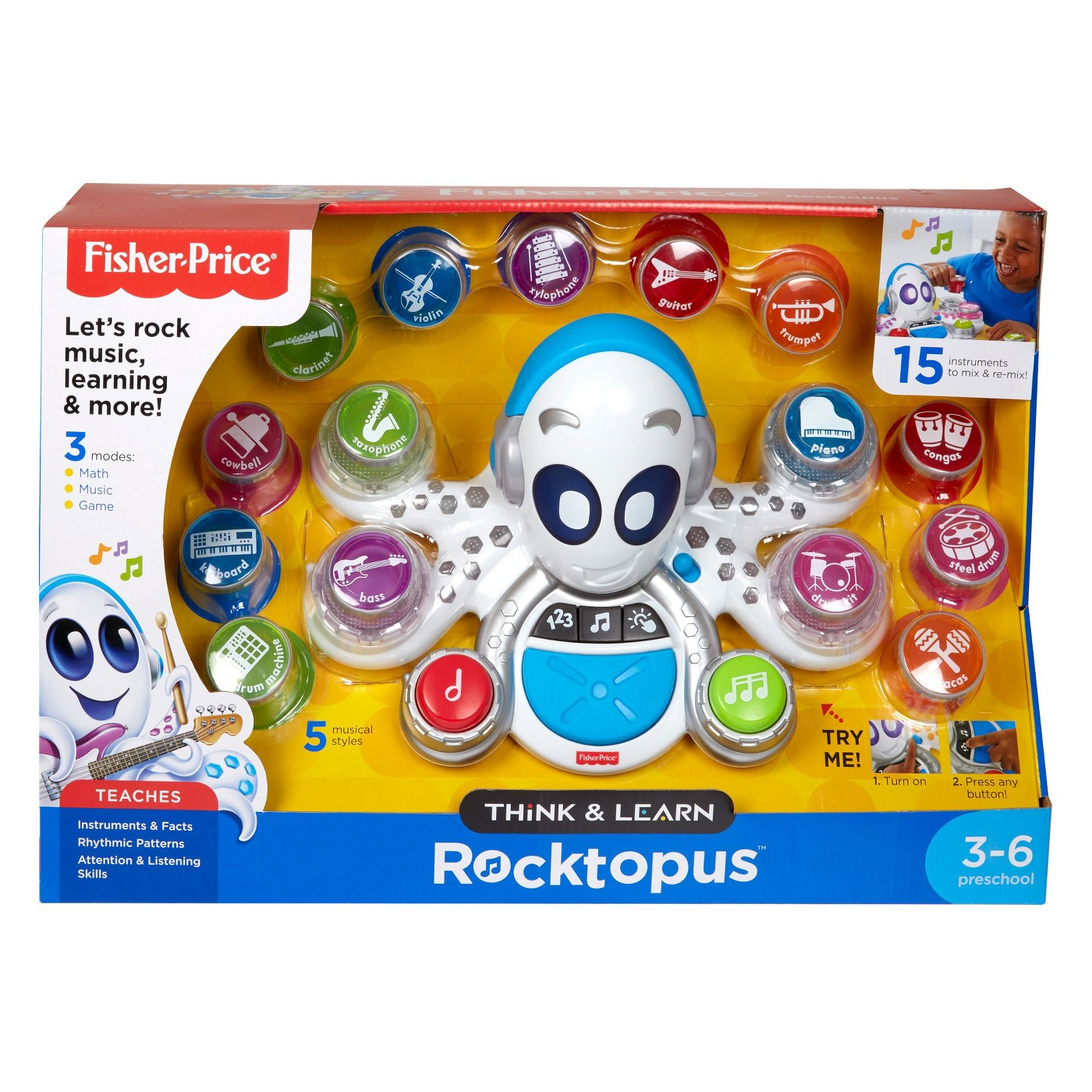 Fisher-Price Think and Learn Rocktopus - image 8 of 8