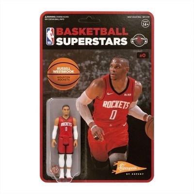"NBA Houston Rockets 3.75"" ReAction Action Figure - Russell Westbrook"