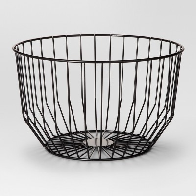 Round Wire Basket Small - Black - Project 62™