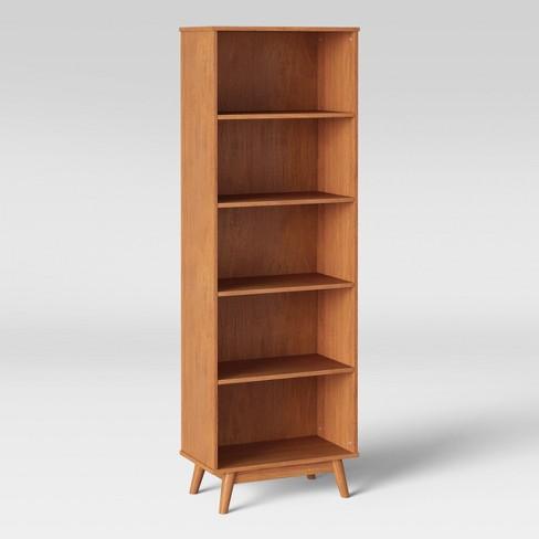 72 Amherst Mid Century Modern 5 Shelf Bookcase Project 62 Target