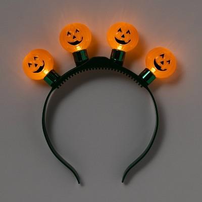 Kids' Pumpkin Halloween Light Up Headband - Hyde & EEK! Boutique™