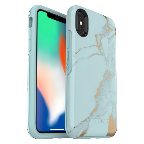 OtterBox Apple iPhone X/XS Symmetry Case - Teal Marble - image 1 of 5