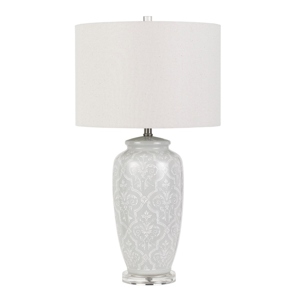 Image of 150W 3 Way Corato Ceramic Table Lamp (Lamp Only) - Cal Lighting, Multi-Colored