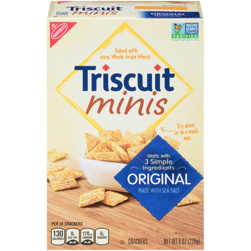 Triscuit Minis Original Crackers - 8.5oz