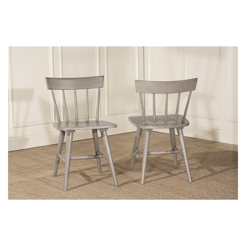 Mayson Spindle Back Dining Chair Set of 2 Gray - Hillsdale Furniture - image 1 of 1