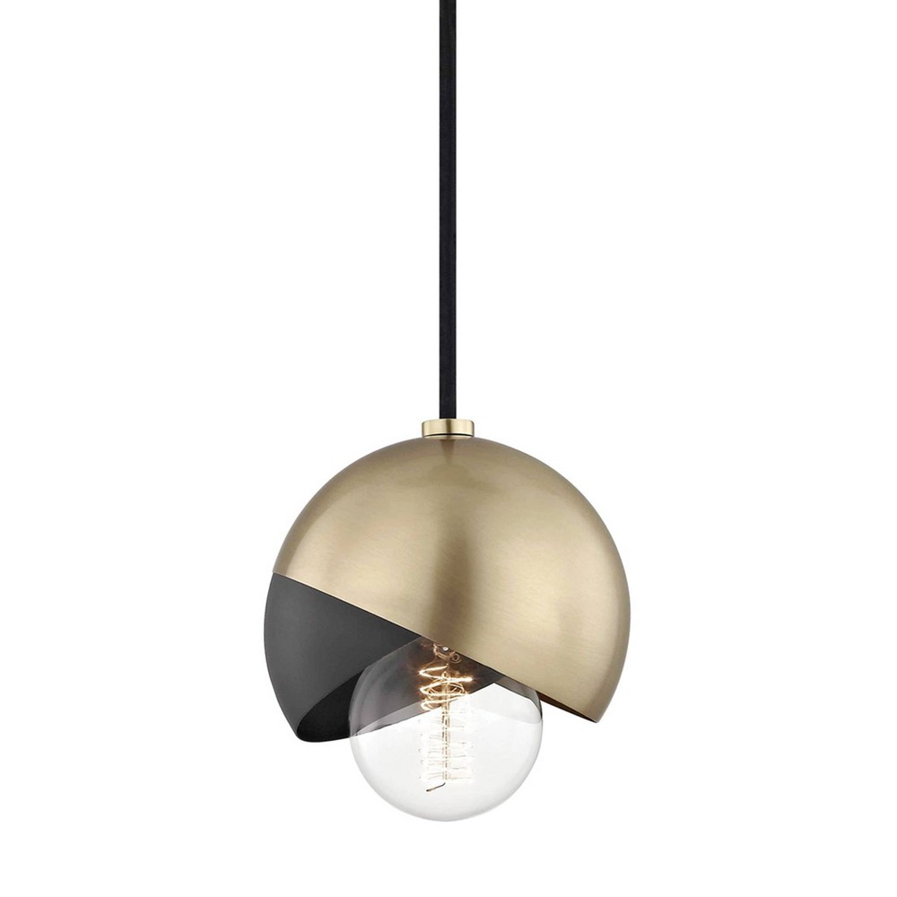 Emma 1-Light Pendant Chandelier Aged Brass - Mitzi by Hudson Valley Coupons
