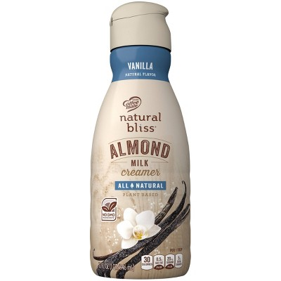 Coffee mate Natural Bliss Vanilla AlmondMilk Creamer - 1qt