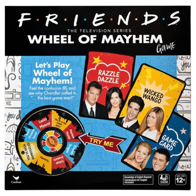 Cardinal Friends Wheel of Mayhem Game