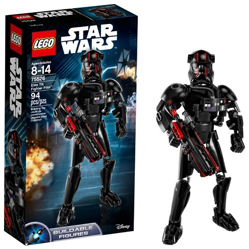 LEGO®  Constraction Star Wars™ The Last Jedi Elite TIE Fighter Pilot™ 75526 - image 1 of 9