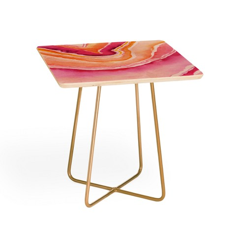 Laura Trevey Pink Side Table by Deny Designs - image 1 of 2