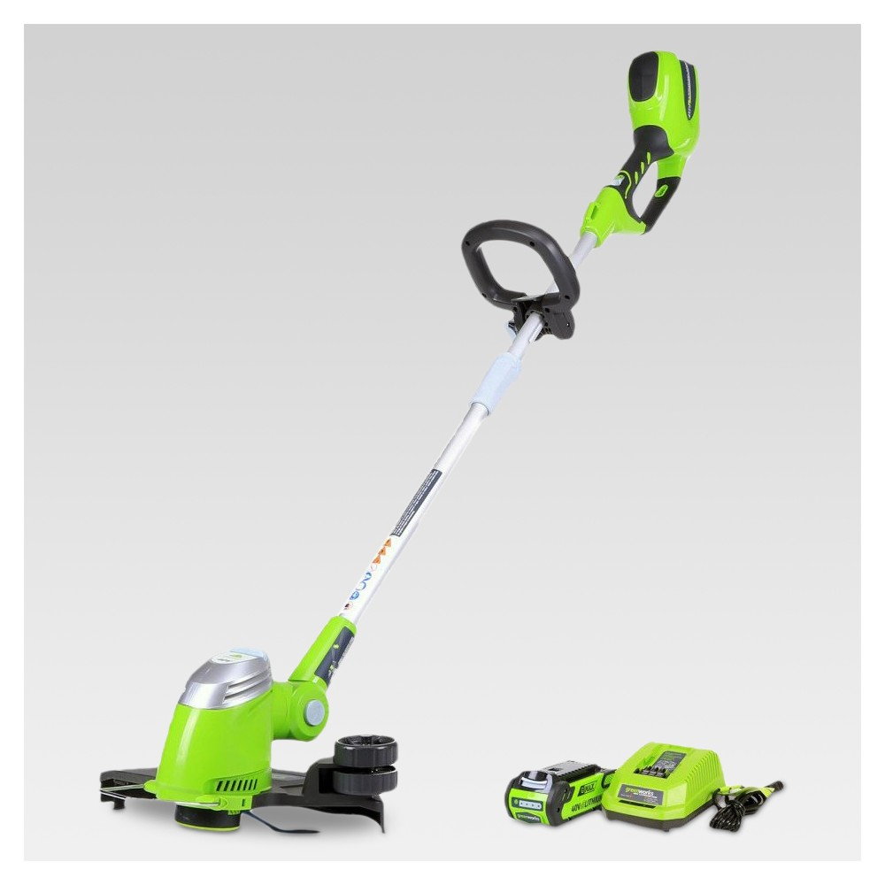 32.5 H String Trimmer - Electric Lime - GreenWorks