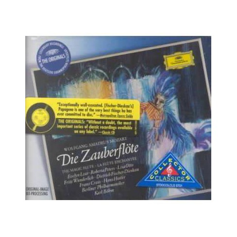 Mozart: Die Zauberflote (The Magic Flute) (CD) - image 1 of 1