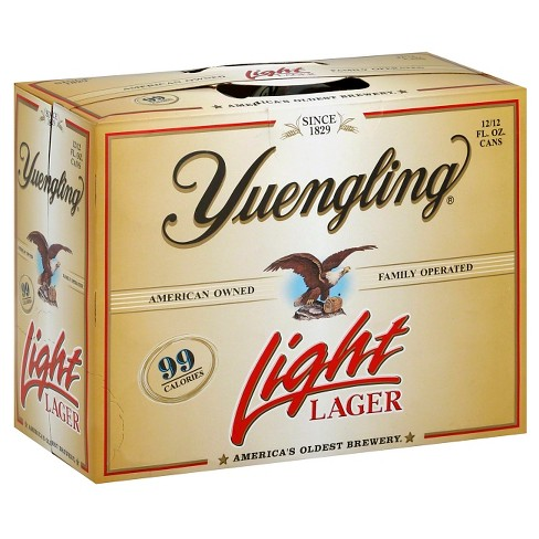 Yuengling Light Lager 12pk/12 fl oz Cans - image 1 of 1